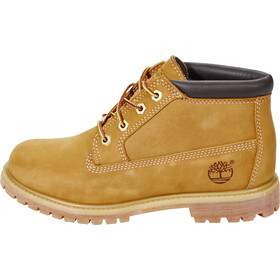 Timberland Nellie Chukka Shoes WP Women, Wheat Nubuck with Black Collar